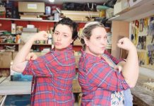 fernanda sanino e Leticia Piagentini da lumberjills