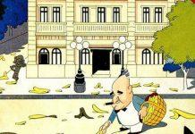 Charge de J. Carlos reflete estratégia de Getúlio para afastar concorrentes – Foto- Reprodução