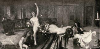 Dias antes da abertura da 1ª Bienal de Veneza, toda cidade discutia a pintura Supremo Convegno, do italiano Giacomo Grosso, sem ainda tê-la visto.