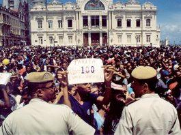 A Revolta do Buzu Protesto de 2003 na Bahia inspirou movimento