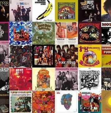 Capas dos 30 álbuns selecionados nesta reportagem. Foto- Divulgação
