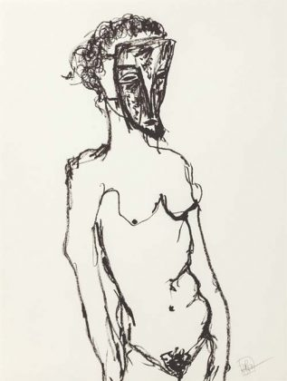 Obra Sem título, 1997, de Rosana Paulino,