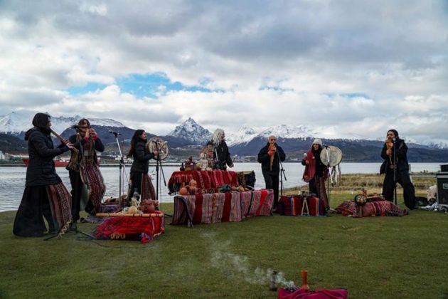 OIANT. Inauguración BIENALSUR 2019. Ushuaia. Crédito BIENALSUR