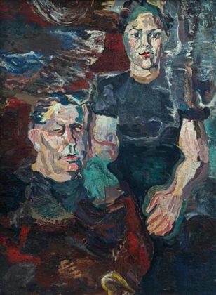 Retrato de Oswald de Andrade e Julieta Barbara, 1939