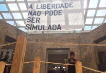 Octógono da pinacoteca de São Paulo