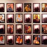 """Albano Afonso - """"Autorretrato com modernos latino-americanos e europeus"""""""