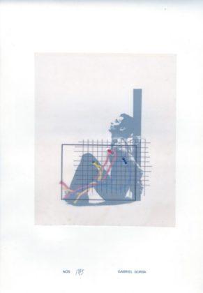 """Gabriel Borba, obra no álbum """"Trama"""", 1975"""