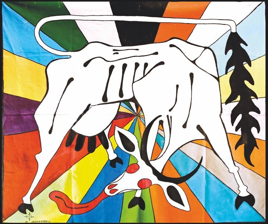 Paulo Miyada, curador-adjunto, Carla Zaccagnini, curadora convidada, Jacopo Crivelli Visconti, curador-geral, Ruth Estévez, curadora convidada e Francesco Stocchi, curador convidado. Equipe curatorial da 34a Bienal de São Paulo.