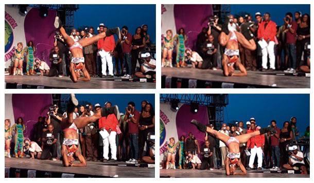 Competicao internacional Dancehall Queen