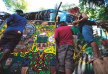 O coletivo Mahku, do povo Huni Kuin (Acre), que expõe na mostra Encontros Ameríndios