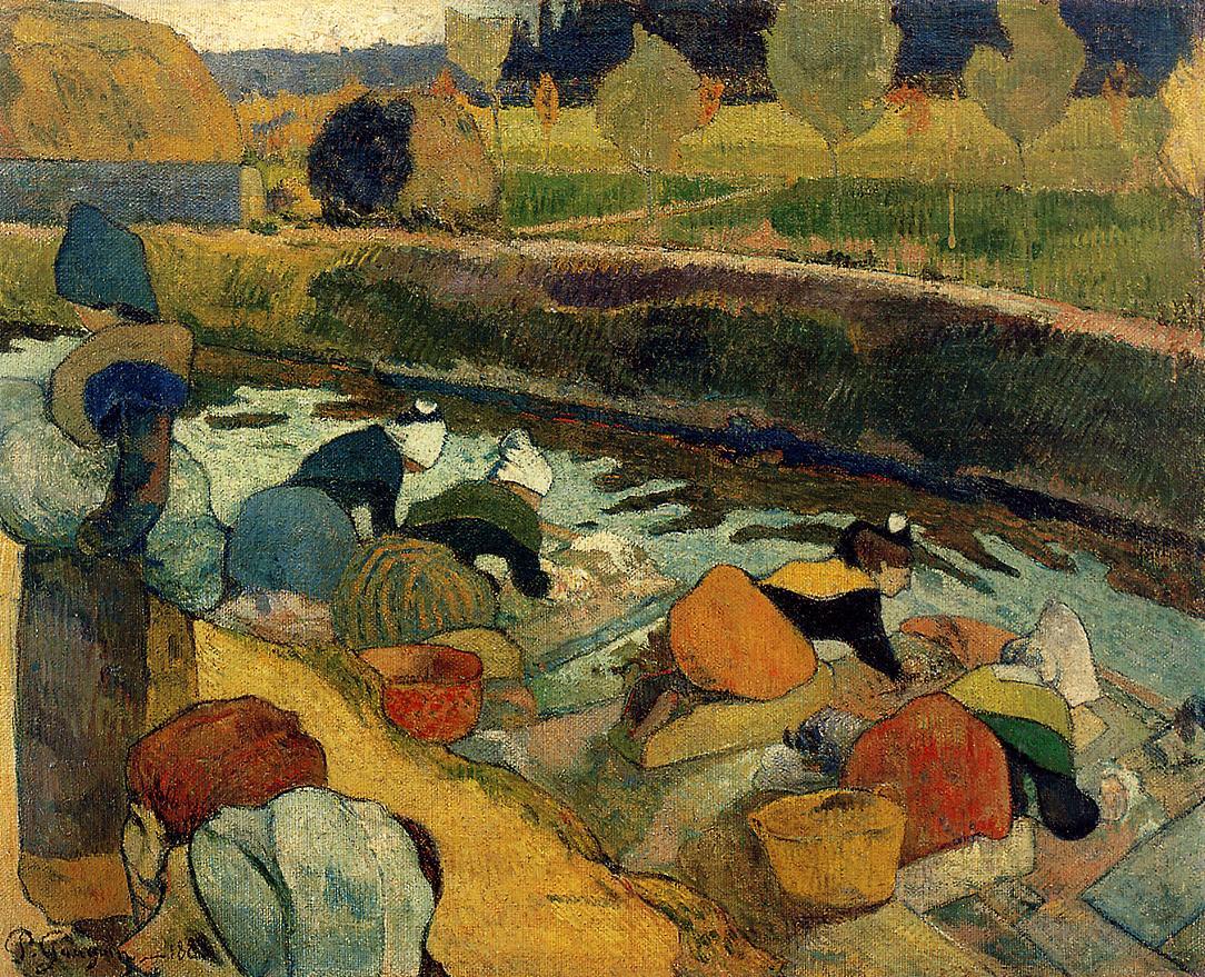 Washerwomen, de Paul Gauguin, no MoMA