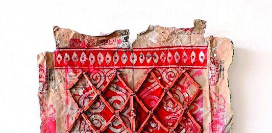 "Andrey Zignnatto, ""Sobre a pele #11"". Galeria Janaina Torres. Para p.art.ilha"