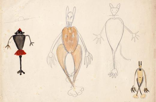 Os desenhos de Tarsila em Itu e a jornada peculiar da artista