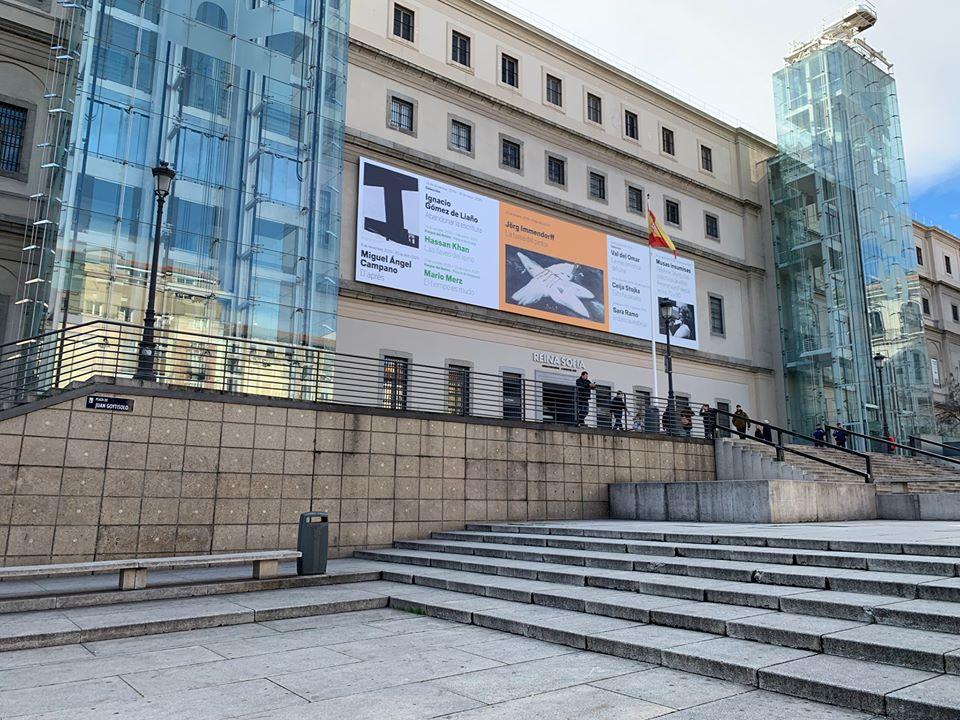 Fachada do Museo Reina Sofía. Foto: Divulgação