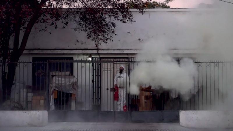 Still do vídeo criado pelo projeto, 2020
