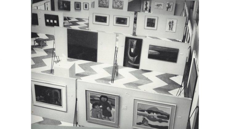 19º Salão Paranaense de Belas Artes, em 1962