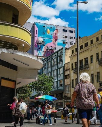 CURA BH. Obra em processo de Lídia Viber. Foto: Divulgação.