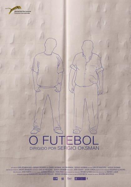 """Poster do filme """"O Futebol"""", de Sérgio Oksman, vencedor do É Tudo Verdade de 2016. Foto: Divulgação."""