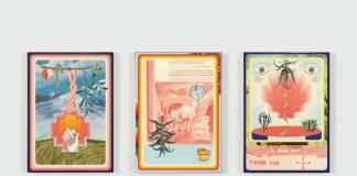 "Frieze London: ""Huk Pacha"", ""Iskay Pacha"", ""Kimsa Pacha"". Obras por Claudia Martínez Garay. Foto: Grimm Gallery."