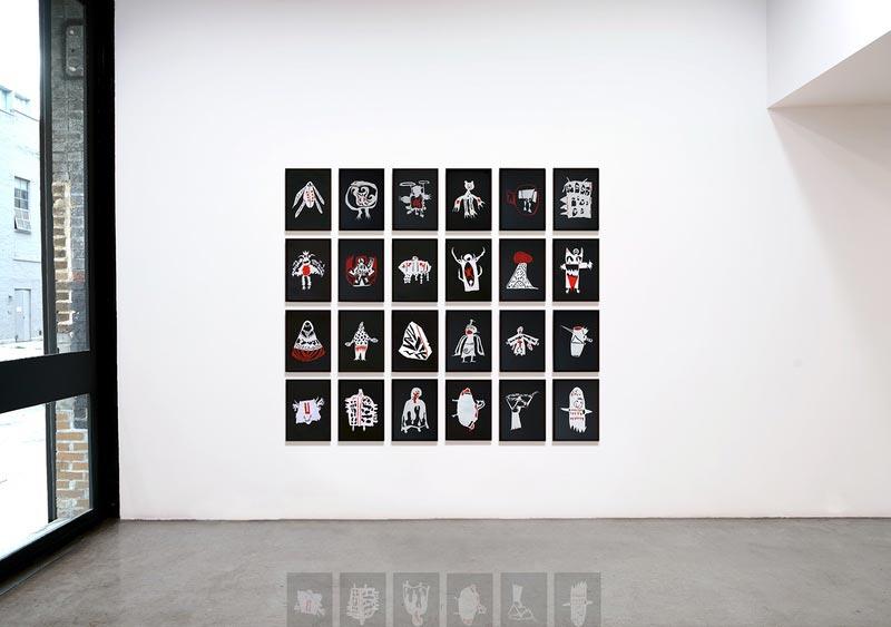 """""""À espreita"""" (2020), Rivane Neuenschwander. Foto: Divulgação."""