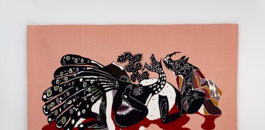 """detalhe da obra """"Trópicos malditos, gozosos e devotos 7"""". Capa da edição #52 da arte!brasileiros"""