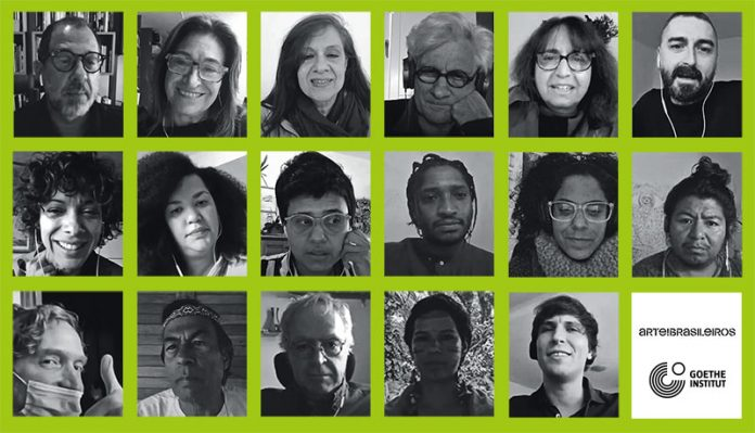 Palestrantes do VI Seminário Internacional Virtual: em defesa da natureza e da cultura - a arte do possível