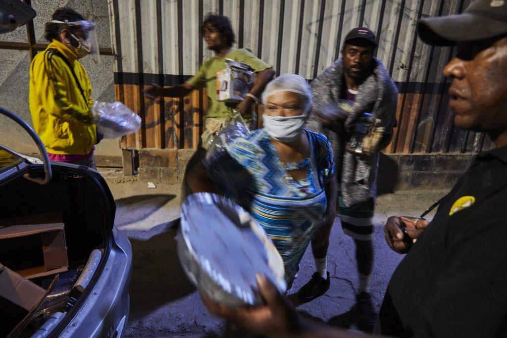 Ação do Birico na Cracolândia. Foto: Cortesia Birico