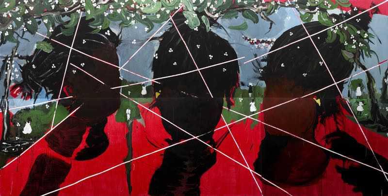 Sem título, Arjan Martins, 2019 Artista importante para os estudos atuais de arte afro-brasileira