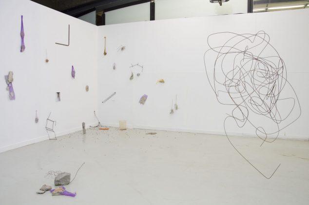 """Exposição """"Fígado"""", de Ana Clara Tito, na Mostra 2020 do CCSP. Foto: Artur Cunha/CCSP"""
