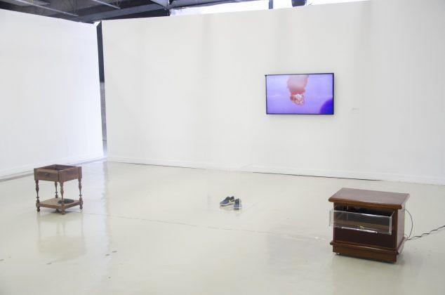"""Exposição """"A água não dorme"""", de Charlene Bicalho. Foto: Artur Cunha/CCSP"""