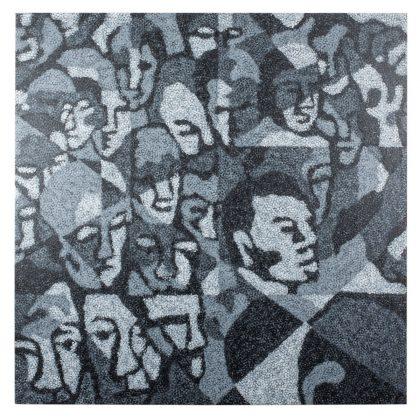 """""""Multidão"""" (1998), de Claudio Tozzi"""