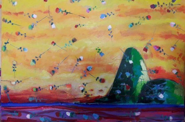 """""""Sugar Loaf"""", de Augusto Herkenhoff, é uma das obras apresentadas na Pinta Miami Live pelo Zagut, espaço que se propõe a promover reflexões, debates interdisciplinares com foco em arte e bem estar"""