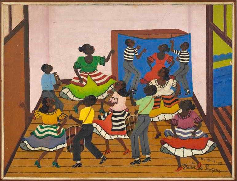 Obra de Heitor dos Prazeres, artista importante para os estudos de arte afro-brasileira