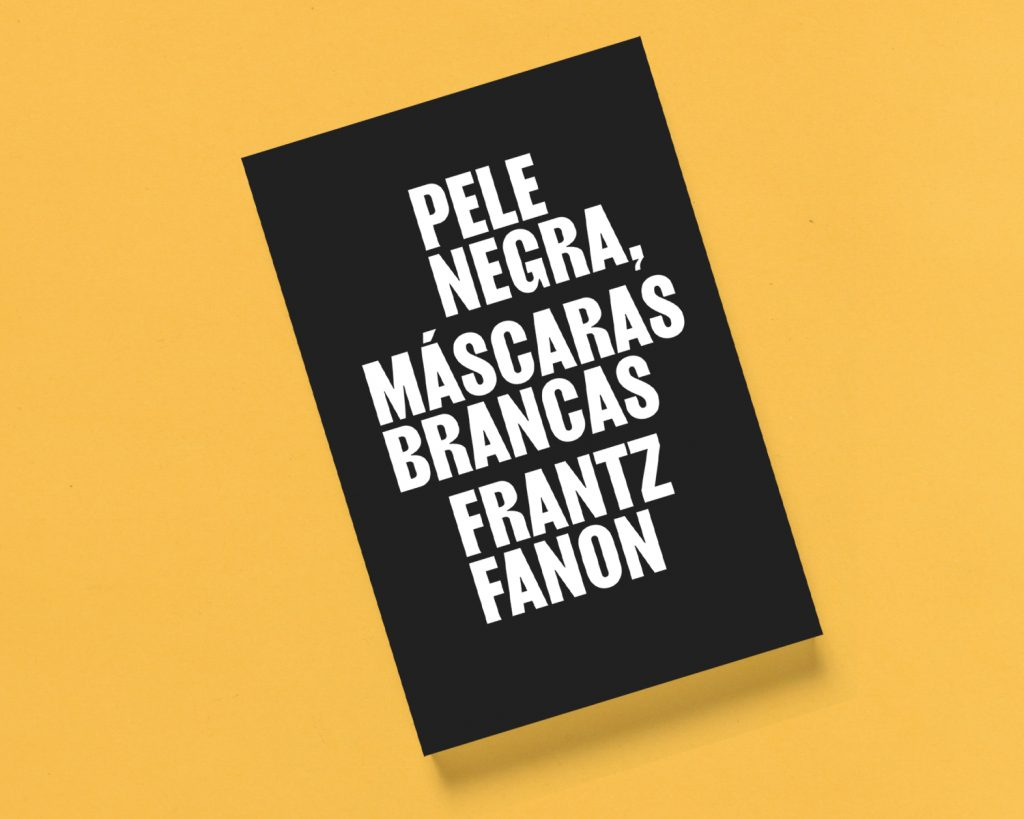Pele negra, máscaras brancas, de Frantz Fanon, publicado pela editora Ubu em 2020 (320 p.). Foto: Divulgação