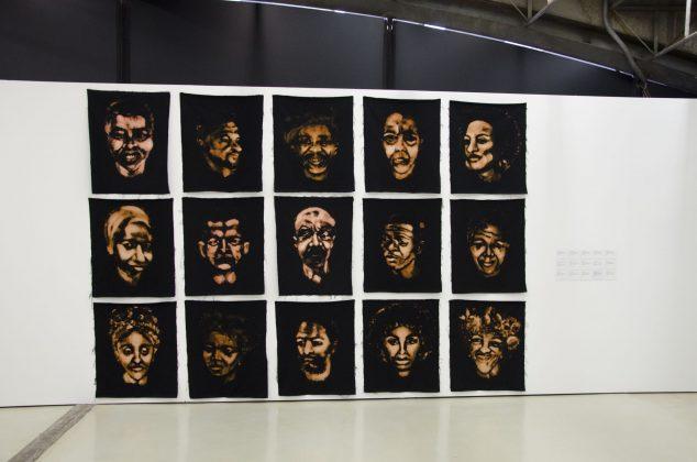 """Obras da exposição """"Eugenia"""", de Peter de Brito. Foto: Artur Cunha/CCSP"""