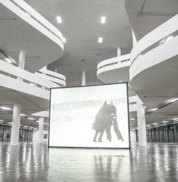 Wind, de Joan Jonas, 1968, no Pavilhão da Bienal