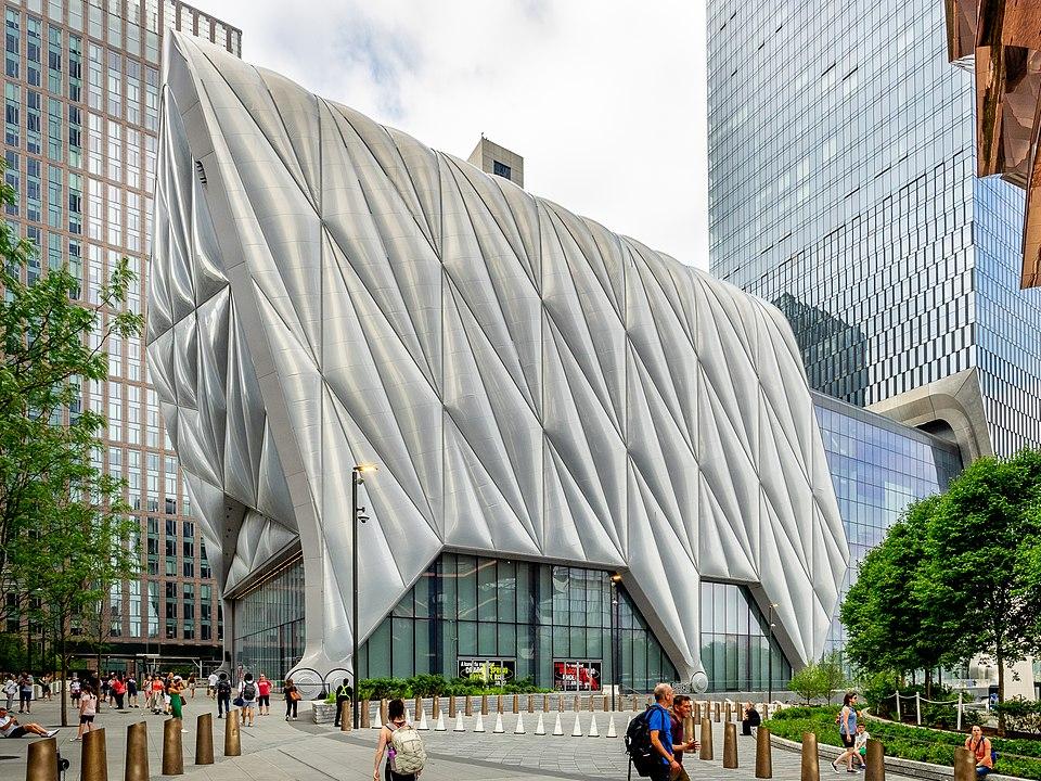 Feiras de arte em 2021: Espaço de artes The Shed, onde a Frieze New York acontecerá em 2021. Foto: Ajay Suresh.