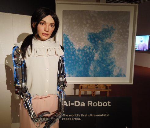 IA e arte Ai-Da Robot