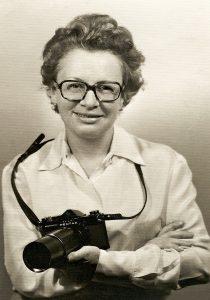 Madalena Schwartz, meados de 1969. Acervo Pedro Luis Szigeti.