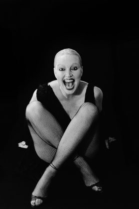 Elke Maravilha, 1983. Foto: Madalena Schwartz, Acervo IMS.