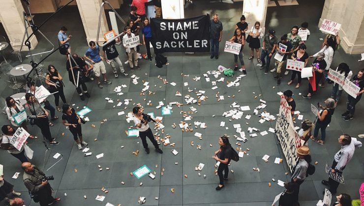 Registro de uma ação do grupo P.A.I.N. Foto: Reprodução do site.