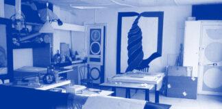 Ateliê de Rossini Perez na região da Bastilha, Paris (anos 1970). Foto: Divulgação.