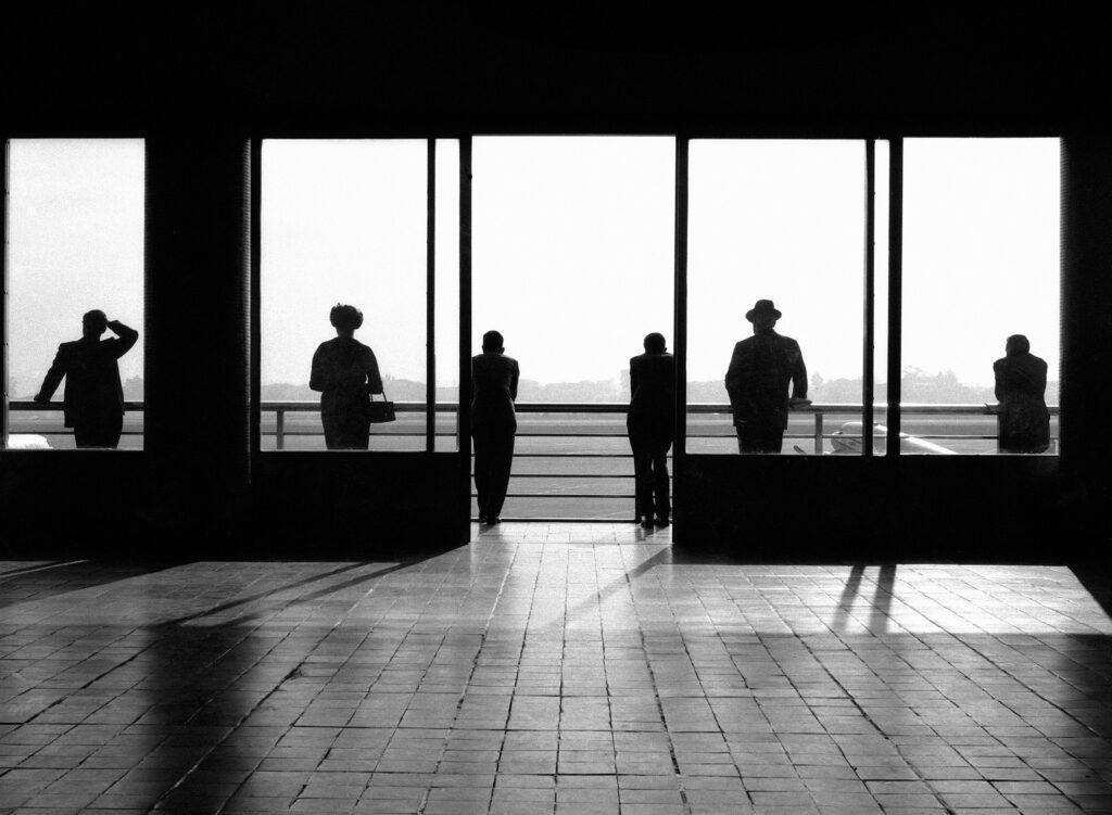 """""""Aeroporto de São Paulo"""", 1965. Cortesia Galeria Utópica."""
