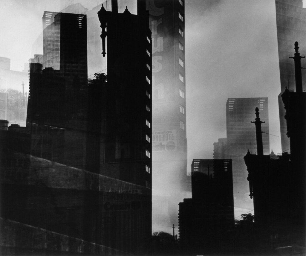 """German Lorca: """"São Paulo Crescendo"""", 1965. Cortesia Galeria Utópica."""
