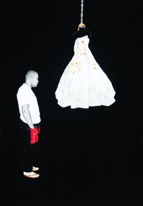Bem Me Quer, Mal Me Quer (2011), Sidney Amaral, exposta em VIVER ATÉ O FIM O QUE ME CABE - SIDNEY AMARAL: UMA APROXIMAÇÃO