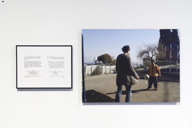 Detalhe de Where We Come From 2001-2003 (Hana). Foto: John Sherman.   Crédito: Emily Jacir, cortesia da galeria Alexander and Bonin, New York.