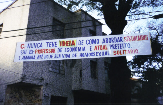 Faixa de Marta Neves. Foto: Divulgação.