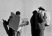 """""""À Procura de Emprego"""", 1948. Courtesy: Galeria Utópica"""