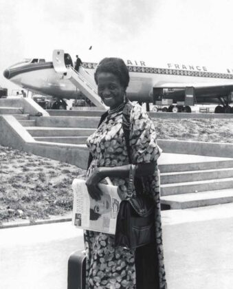 Carolina Maria de Jesus, 1961. Foto: Arquivo/Estadão Conteúdo