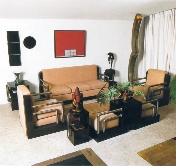 Mobiliário de sala de estar